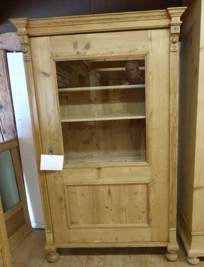 antik m bel antike moebel l rrach basel freiburg vitrine antik tanne. Black Bedroom Furniture Sets. Home Design Ideas